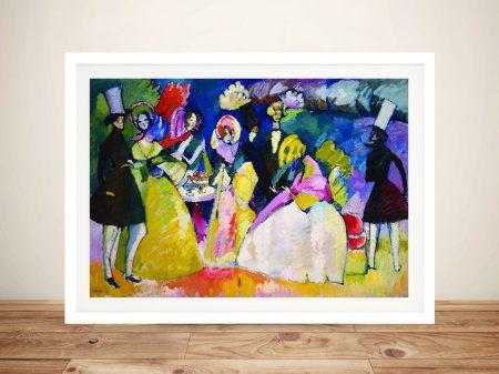 Buy Crinolina Framed Abstract Wall Art