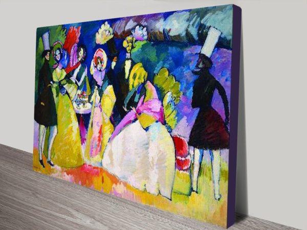 Buy Crinolina Abstract Kandinsky Framed Art
