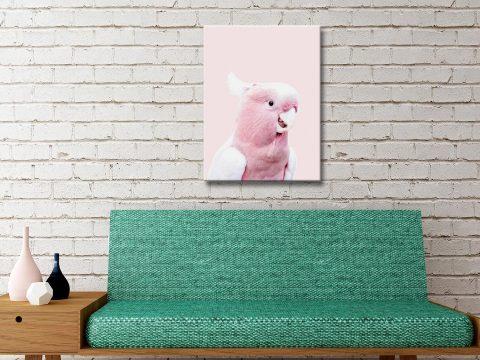 Buy Cockatoo Canvas Art Online Unique Gift Ideas