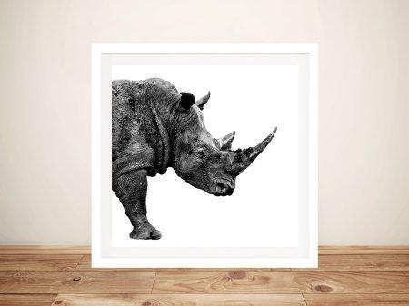 Buy Rhino Framed Wall Art Online