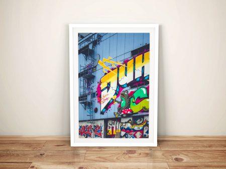 Buy Higher Ground A Framed Street Art Print