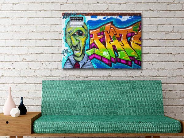 Buy Artistic Bricks Canvas Street Art Prints