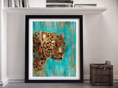 Buy A Leopard Framed Canvas Print Online