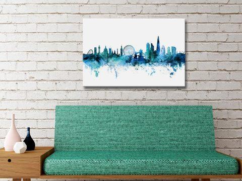 Buy Michael Tompsett London Skyline Wall Art