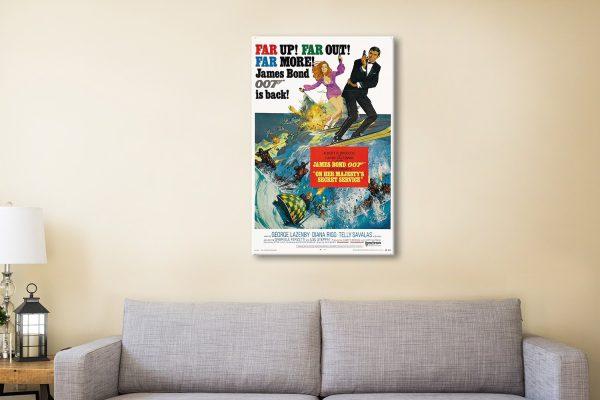 Buy Cheap James Bond Movie Poster Prints