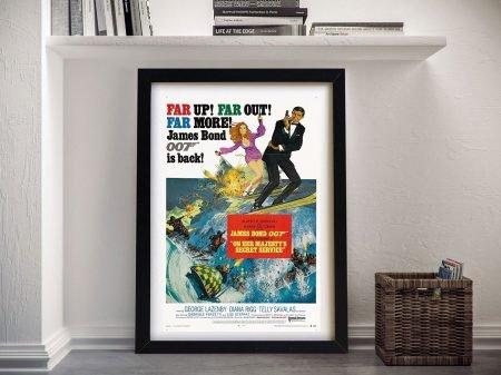 On Her Majestys Secret Service Movie Poster Art