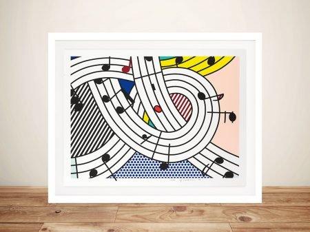 Buy Composition II by Lichtenstein Framed Art