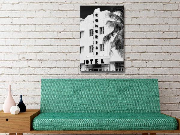 Art Deco Architecture Hugonnard Wall Art AU