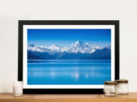 Buy Blue Mountain Lake Arresting Wall Art