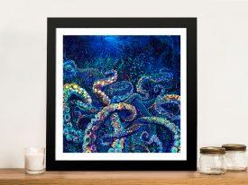 Cephalopod Iris Scott Framed Wall Art