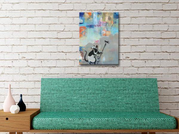 Buy Banksy Abstract Rat Great Gift Ideas Australia