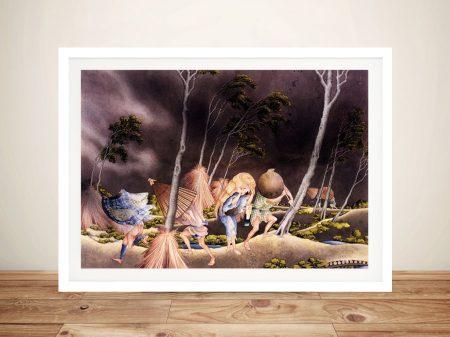 Peasants Surprised by a Violent Storm Artwork