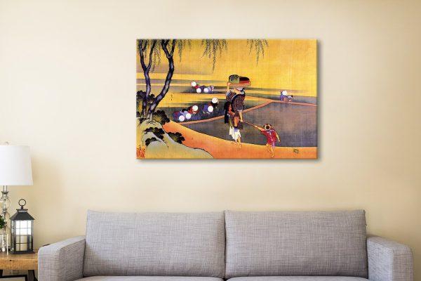 Buy Rice Fields Stunning Canvas Prints Online