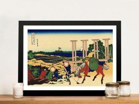 Buy Senju Japanese Wall Art by Hokusai