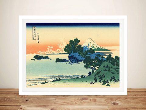 Buy Shirchiri Beach in Sagami Canvas Wall Art