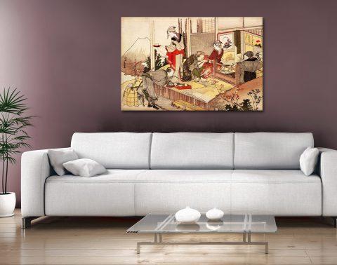 The Studio of Netsuke Buy Japanese Art Prints AU
