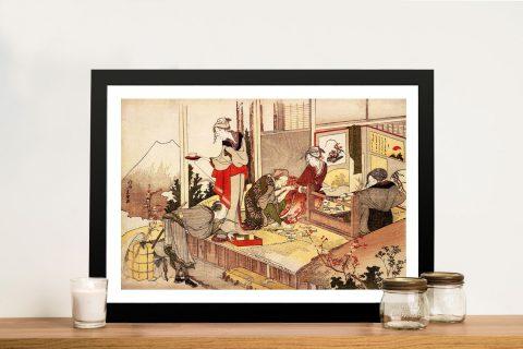 Buy The Studio of Netsuke Canvas Wall Art