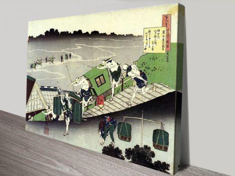 Buy Hokusai Classic Japanese Framed Prints
