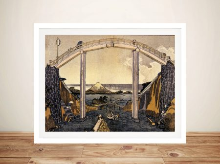 Buy View of Mount Fuji Japanese Canvas Art