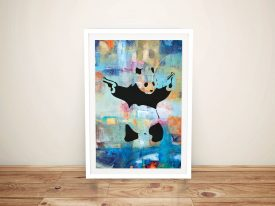 Buy Panda Summer of Love Canvas Graffiti Art