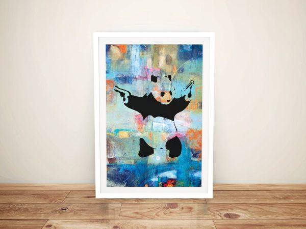 Buy Panda Summer of Love Canvas Graffiti Art