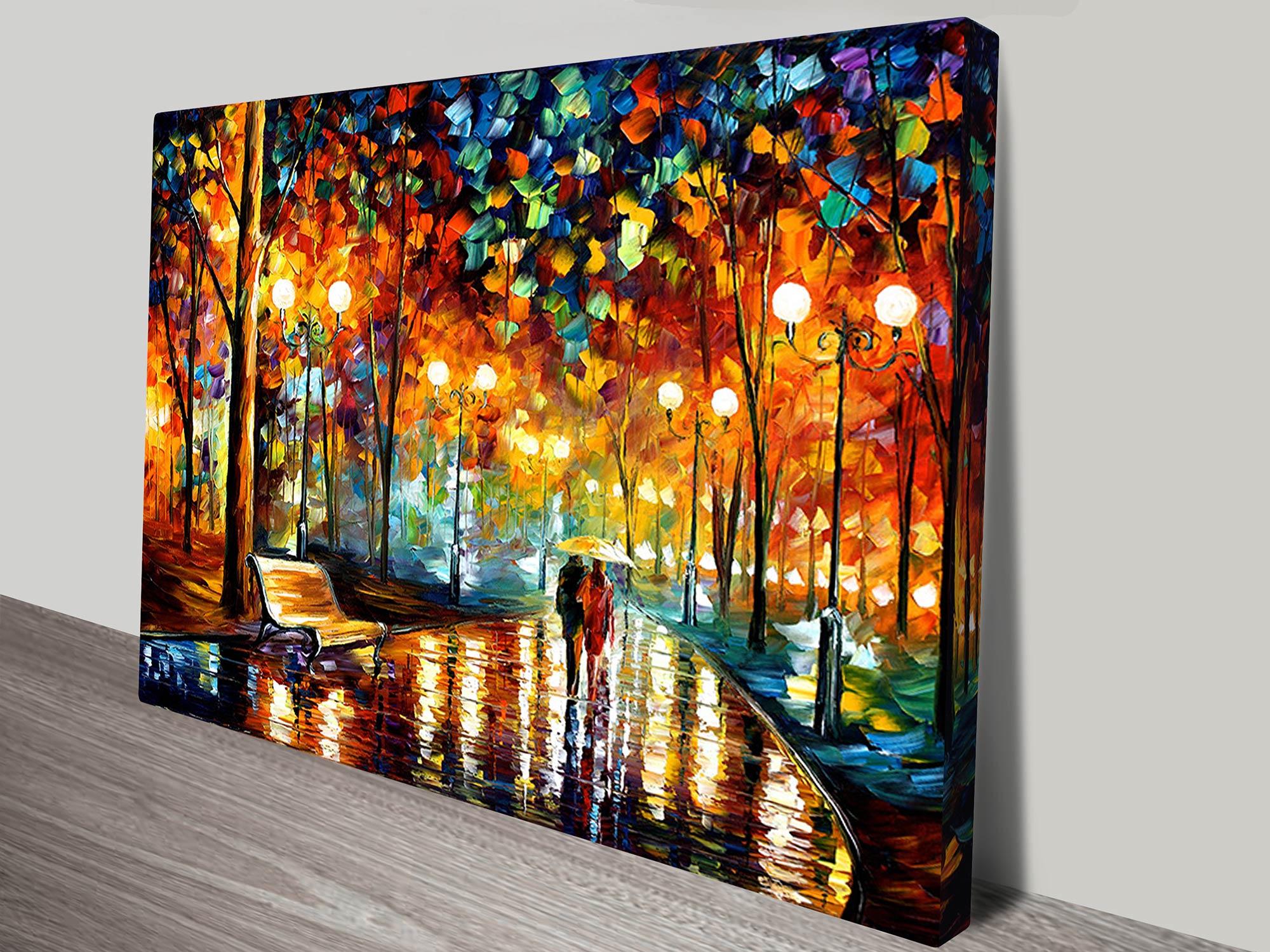 Rain Rustle By Leonid Afremov Canvas Artwork Prints Australia