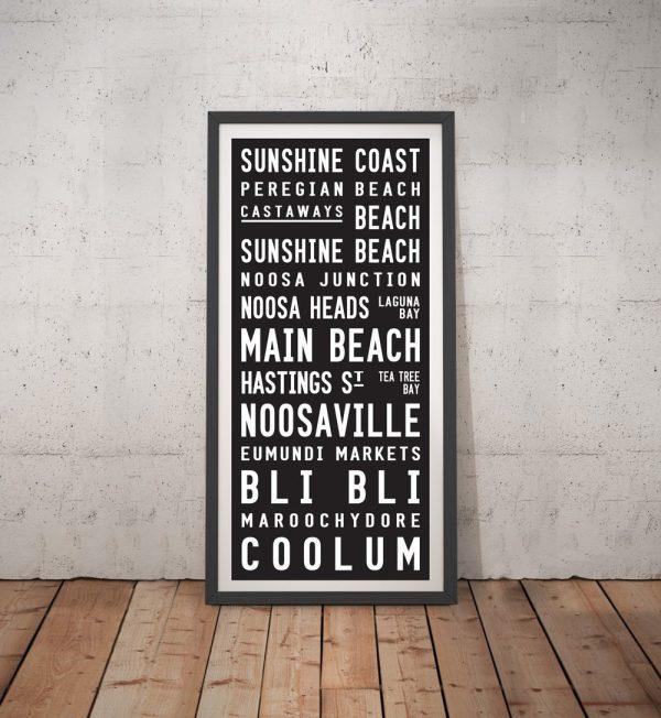 Sunshine Coast Contemporary Tram Scroll