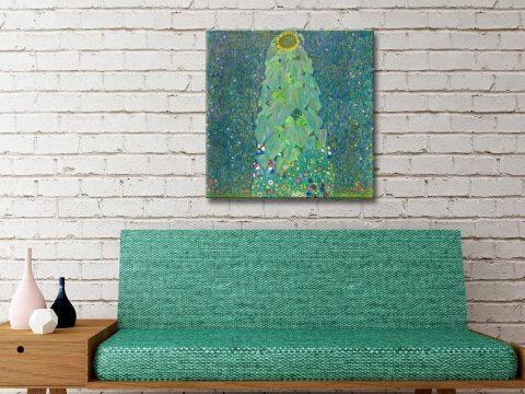 Buy The Sunflower Artwork by Klimt Online