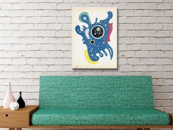 Buy Stars by Kandinsky Canvas Wall Art Prints