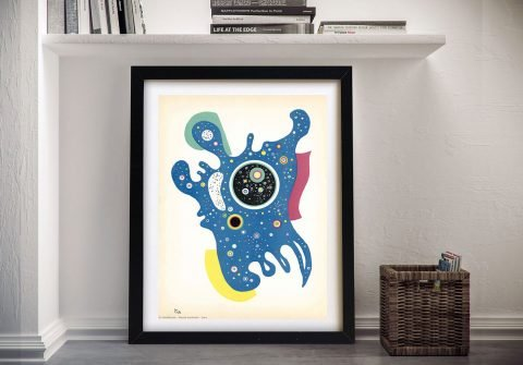 Stars by Kandinsky a Framed Abstract Print