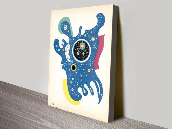 Buy Stars by Kandinsky Stretched Canvas Art AU