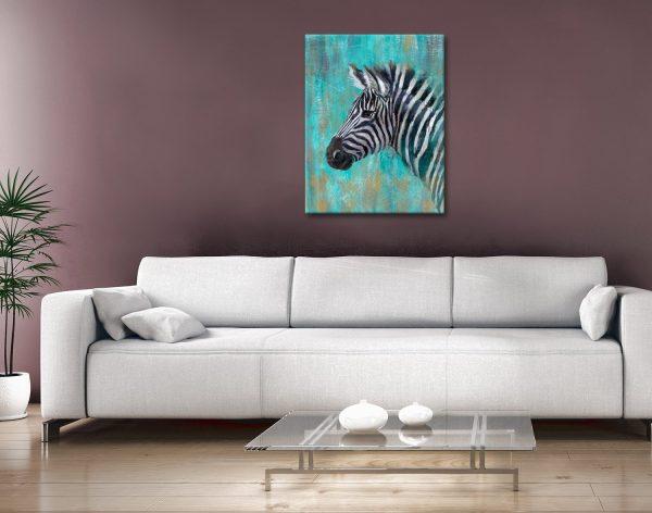 Buy A Zebra Canvas Print At Discount Prices AU