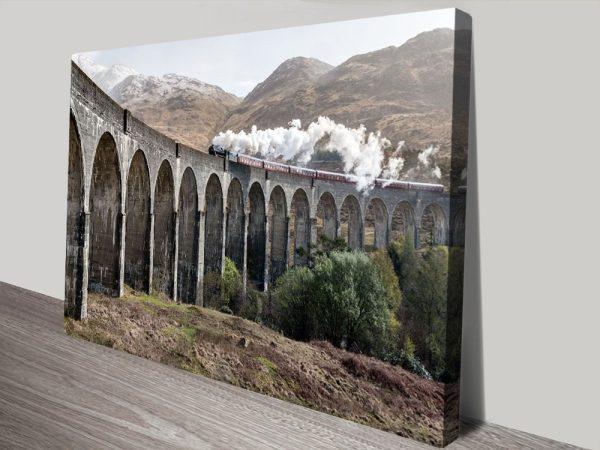 Buy Ancient Viaduct Train Art Cheap Online