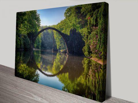 Circle of Reflection Cheap Landscape Art Online