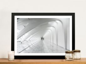 Buy Futuristic Architecture Framed Artwork