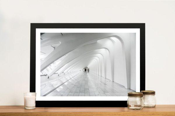 Buy Futuristic Architecture Framed Artwork