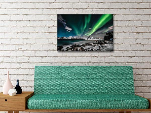 Buy Aurora Borealis Canvas Art Cheap OnlineBuy Aurora Borealis Canvas Art Cheap Online