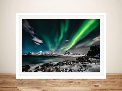 Northern Lights Delight Entrancing Canvas Print