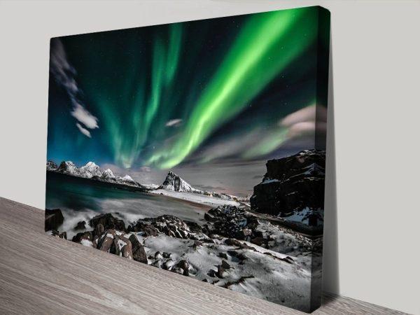 Aurora Borealis Canvas Art Great Gifts Online