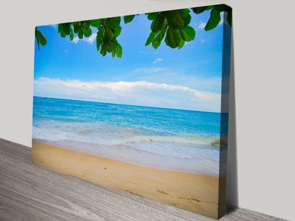Perfectly Calm Cheap Seascape Wall Art Online