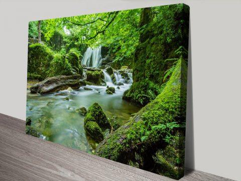 Buy Verdant Cascade Enchanting Artwork AU