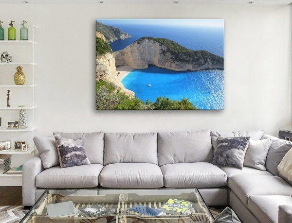 Buy Paradise Bay Scenic Seascape Canvas Art AU