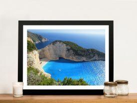 Buy Paradise Bay Aerial Beachscape Artwork