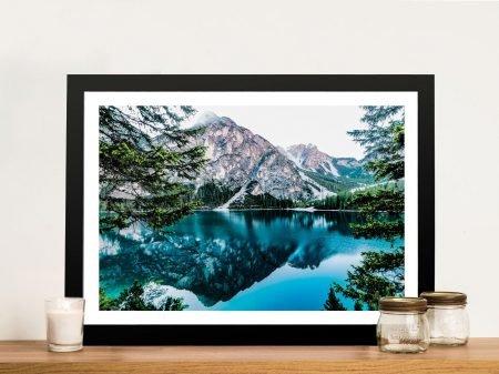 Buy Mountain Reflections Landscape Wall Art