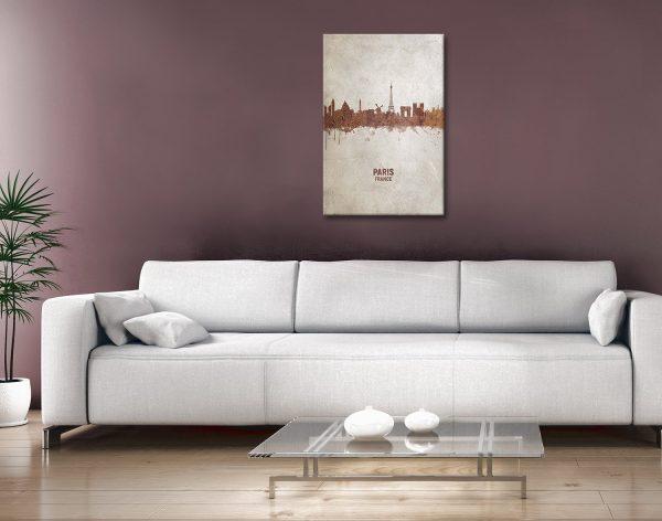 Buy Paris Skyline Wall Art Great gifts Online