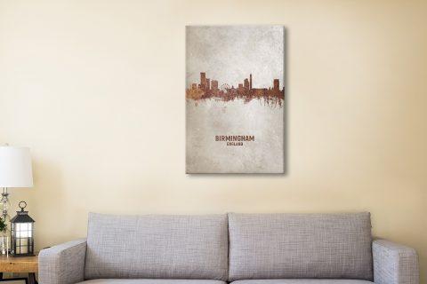 Buy Birmingham Skyline Art Great Gifts Online