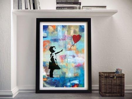 Buy Summer of Love A Banksy Wall Art Print
