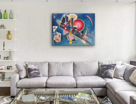 Buy Im Blau Cheap Kandinsky Canvas Prints