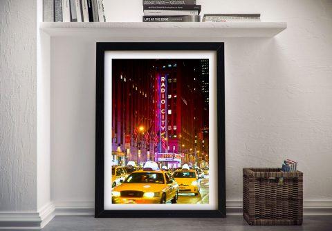 Buy a Print of NYC's Radio City Music Hall
