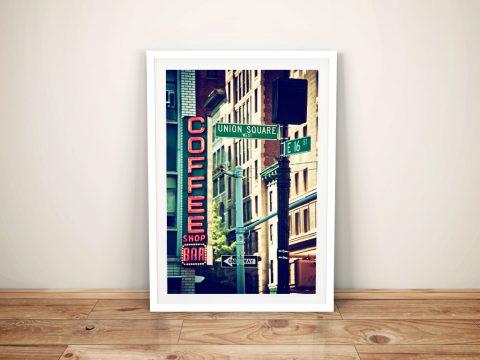 Buy Union Square - Manhattan Canvas Artwork